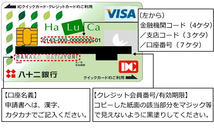 給付 金 キャッシュ カード コピー